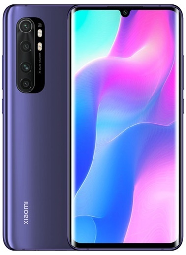 Xiaomi Mi Note 10 Lite 64 GB Nebula Purple Mor